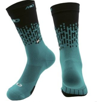 M2O Endurance Rivet Crew Plus Compression Socks Green/Black