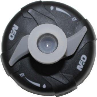 M2O Pilot Bottle Replacement Cap Black/Grey/Clear