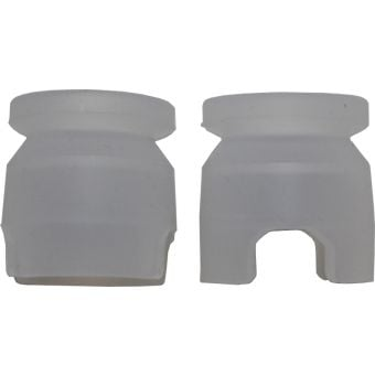 M2O Pilot Bottle Replacement Silicone Mouth Piece Clear 2 Pk