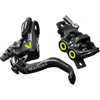 Magura MT7 PRO 4 Piston Rear Disc Brake Black/Fluro Yellow