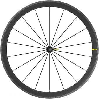 Mavic Cosmic SL 40 700c QR Rim Brake Carbon Fibre Front Wheel