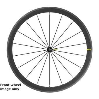 Mavic Cosmic SL 40 700c QR Rim Brake Carbon Fibre Rear Wheel (Shimano HG/SRAM)
