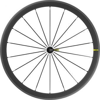 Mavic Cosmic SLR 40 700c Rim Brake Carbon Fibre Front Wheel