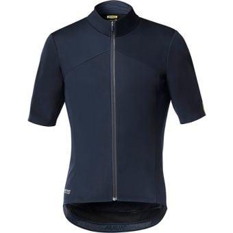 Mavic Mistral Windbreaker Short Sleeve Jersey Black