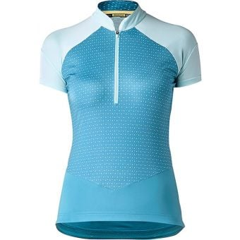 Mavic Sequence Graphic Womens Jersey Blue Moon