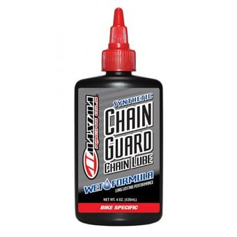 Maxima Chain Guard Wet Formula Synthetic Chain Lube 120mL