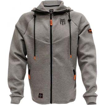 Maxxis Logo Zip Up Hoodie Grey
