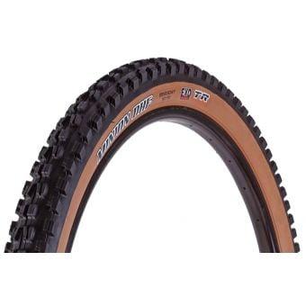 "Maxxis Minion DHF 29x2.50"" 60TPI EXO TR Dark Tanwall Folding MTB Tyre"