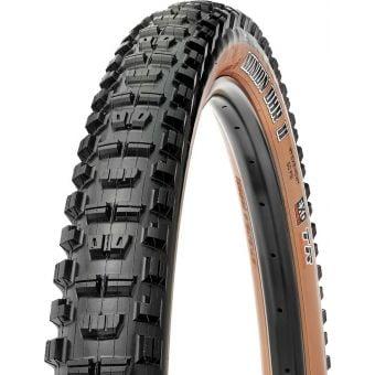 "Maxxis Minion DHR II 29x2.60"" 60TPI EXO TR Skinwall Folding MTB Tyre"
