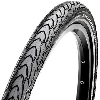 Maxxis Overdrive Excel 700x35C Silkshield Wire Bead Tyre