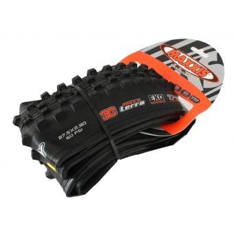 "Maxxis Shorty 27.5x2.30"" EXO 3C Tubeless Ready Folding MTB Tyre"