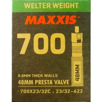 Maxxis Welter Weight Presta Valve 27.5 x 1.90/2.35 Tube