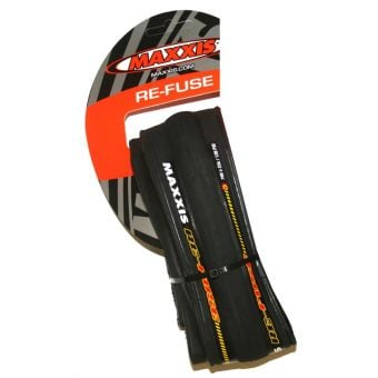 Maxxis RE-Fuse Folding Road Tyre 700x25c Black