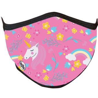 MB Wear Smask-01 Kids Filtering Face Mask Unicorn