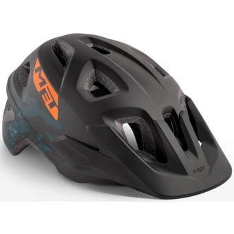 MET Eldar Youth Helmet Unisize Black Camo/Matt