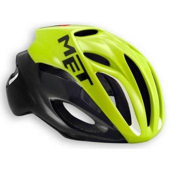 MET Rivale Helmet Safety Yellow/Black