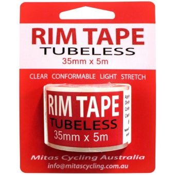 Mitas Clear Ding Tape Tubeless Rim Tape 35mm x 5m