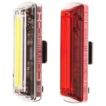 Moon Comet-X 60/120 lm Front & 25/50 lm Rear Light Set