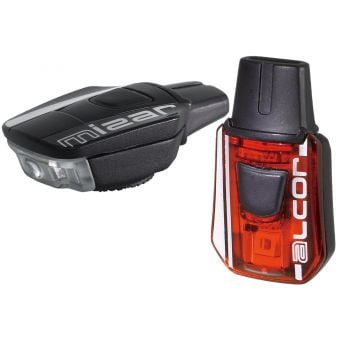 Moon Mizar 100lm Alcor 15lm USB Front/Rear Light Set