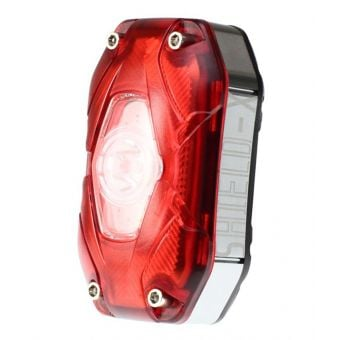 Moon Shield-X Auto 80-150lm USB Rechargeable Rear Light