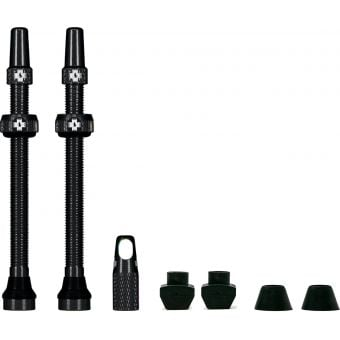 Muc-Off 80mm Tubeless Valve Stem Kit Black