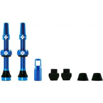 Muc-Off Tubeless Presta Valve Kit 44mm Blue