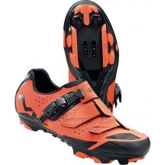 Northwave Sparkle 2 SRS Womens MTB Shoes Lobster Orange/Black