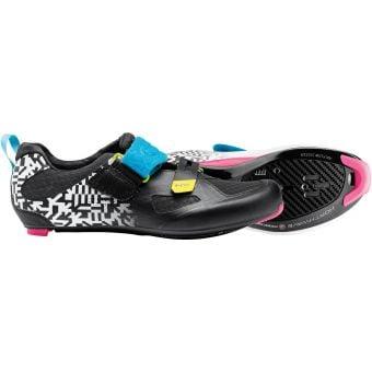 Northwave Tribute Carbon 2 Triathlon Shoes White Black/Multi