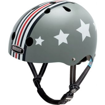 Nutcase Little Nutty Gen3 Silver Fly Helmet