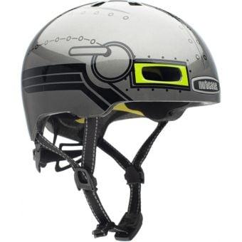 Nutcase Little Nutty Robo Boy Gloss MIPS Youth Helmet