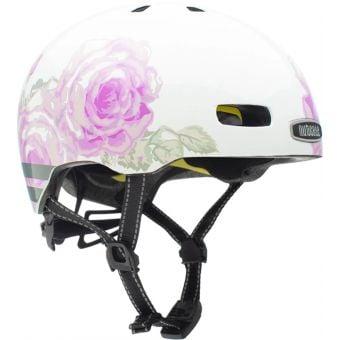 Nutcase Street Delicate Flower Reflective MIPS Helmet