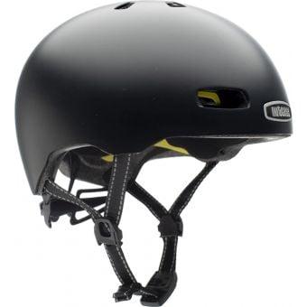 Nutcase Street Onyx Solid Satin MIPS Helmet
