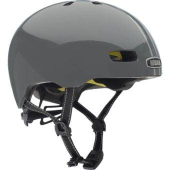 Nutcase Street Suit and Tie Stripe Gloss Reflective MIPS Helmet