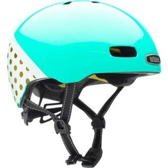 Nutcase Street Tiffany's Brunch Reflective MIPS Helmet