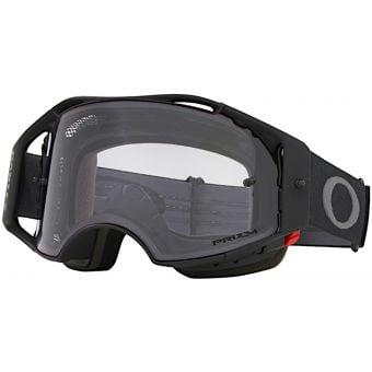 OAKLEY Airbrake MTB Goggles Black Gunmetal Frame Prizm Low Light Lens