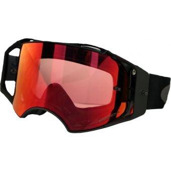 OAKLEY Airbrake MTB Goggles Black/Gunmetal/Prizm Trail Torch Lens