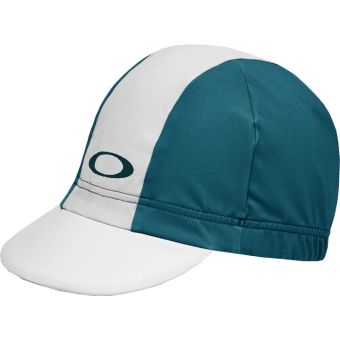 Oakley Road Cycling Cap 2.0 White/Teal 2020