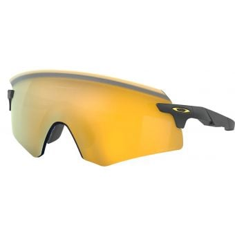 Oakley Encoder Sunglasses Matte Carbon w/ Prizm 24K Lens