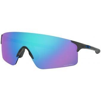 OAKLEY EVZero Blades Sunglasses Steel Frame Prizm Sapphire Lens