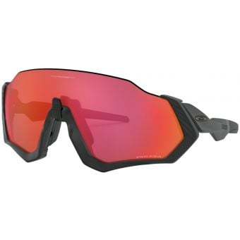 OAKLEY Flight Jacket Sunglasses Matte Black Frame Prizm Trail Torch Lens
