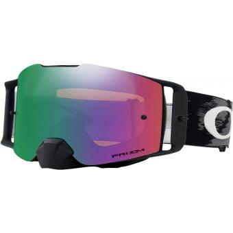 OAKLEY Frontline MX Goggles Matte Black/Prizm Mx Jade Iridium Lens
