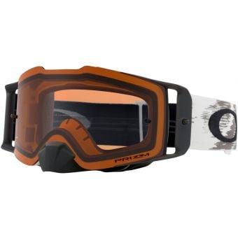 OAKLEY Frontline MX Goggles Matte White/Prizm Mx Bronze Lens