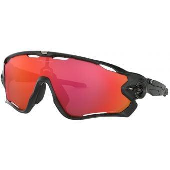 OAKLEY Jawbreaker Sunglasses Matte Black Frame Prizm Trail Torch Lens