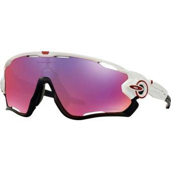 OAKLEY Jawbreaker Sunglasses Polished White/Prizm Road Lens