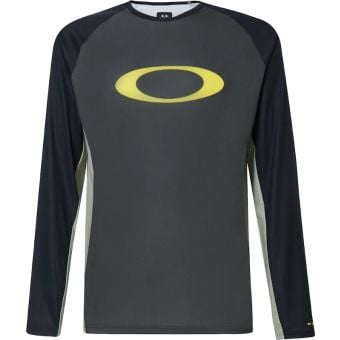 Oakley MTB Long Sleeve Tech Tee New Dark Brush 2020