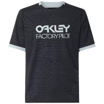 OAKLEY Pipeline SS Trail T-Shirt Blackout 2021 Small