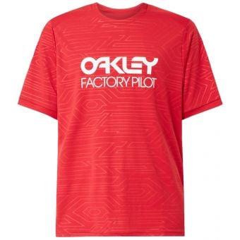 OAKLEY Pipeline SS Trail T-Shirt Redline 2021