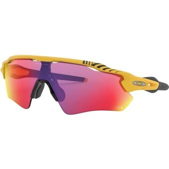 OAKLEY Radar EV Path Sunglasses TDF 2019 Ltd Ed Matte Yellow Frame Prizm Road Lens