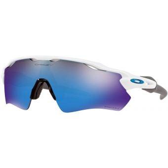 OAKLEY Radar EV Path Team Colours Sunglasses Polished White/Prizm Sapphire Iridium Lens