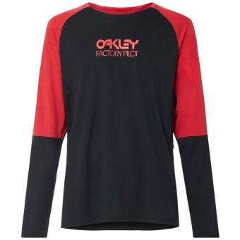 OAKLEY Switchback LS Trail T-Shirt Blackout 2021 Small